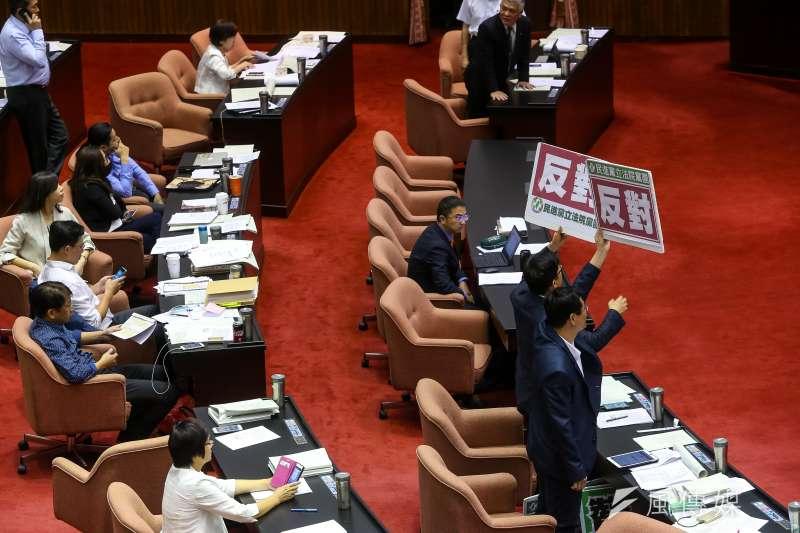 20190531-民進黨31日針對刑法修正案國親及時代力量所提草案表示反對。(顏麟宇攝)