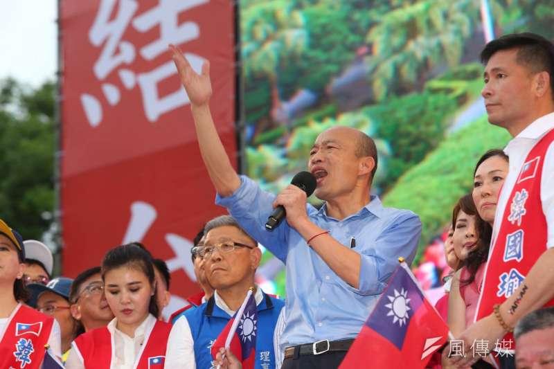 作者質疑,喊著說要保衛中華民國的國民黨與其媒體 ,竟然在這個熱戰的當下 ,選擇與消滅中華民國的獨派站在同一個戰線 。(資料照,顏麟宇攝)