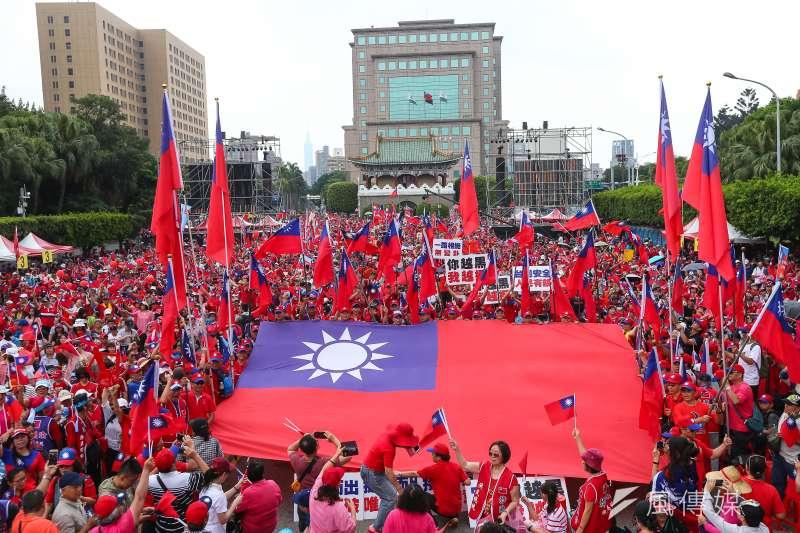 造勢活動對人民有什麼影響?圖為「決戰2020,贏回台灣」全國團結造勢大會。(資料照,顏麟宇攝)