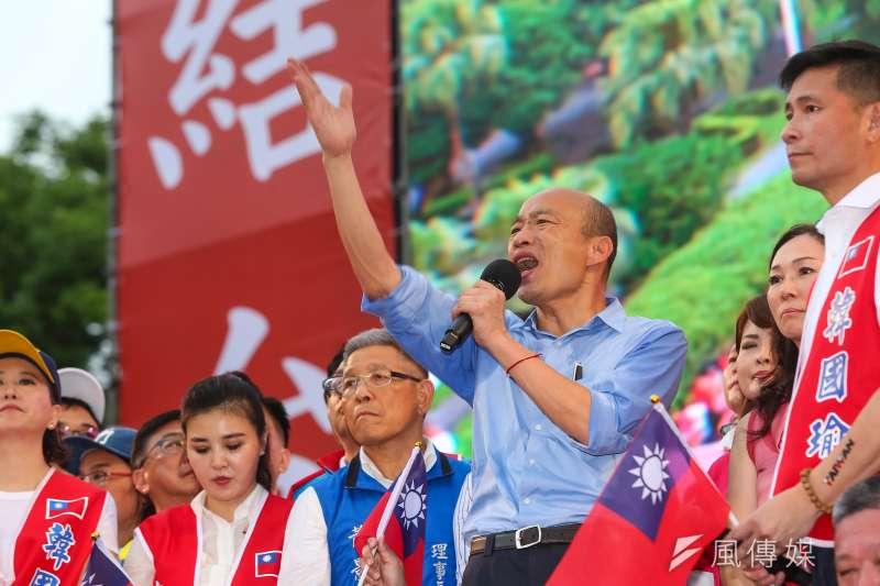 作者表示,綠營即便初選推出小英或賴清德,沒有政策的突破讓民眾有感的話,數據再說得亮麗都無法再吸引民意。圖為「決戰2020,贏回台灣」全國團結造勢大會。(資料照,顏麟宇攝)