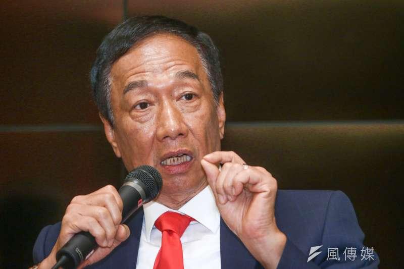 鴻海集團將在21日召開股東會,郭台銘日前重申不會擔任董事長。(資料照,蔡親傑攝)