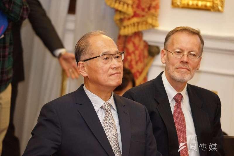 20190602-國安會秘書長李大維出席記者會。(盧逸峰攝)