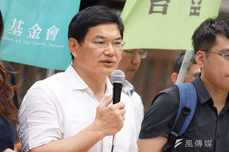 高雄市長補選,國民黨、民眾黨都推出現任市議員李眉蓁、吳益政(見圖)參選。(資料照,盧逸峰攝)