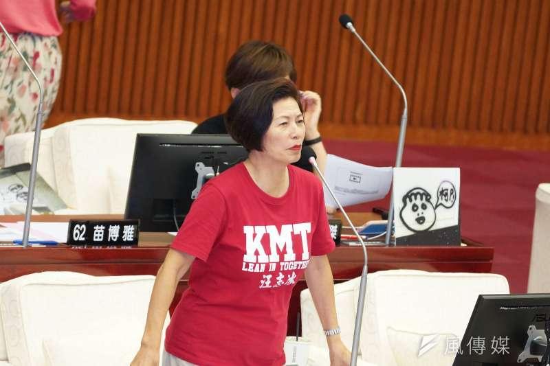 經過國民黨與新黨第一選區的二階段整合,台北市第士林、北投區立委確定由台北市議員汪志冰(見圖)披掛上陣。(資料照,盧逸峰攝)