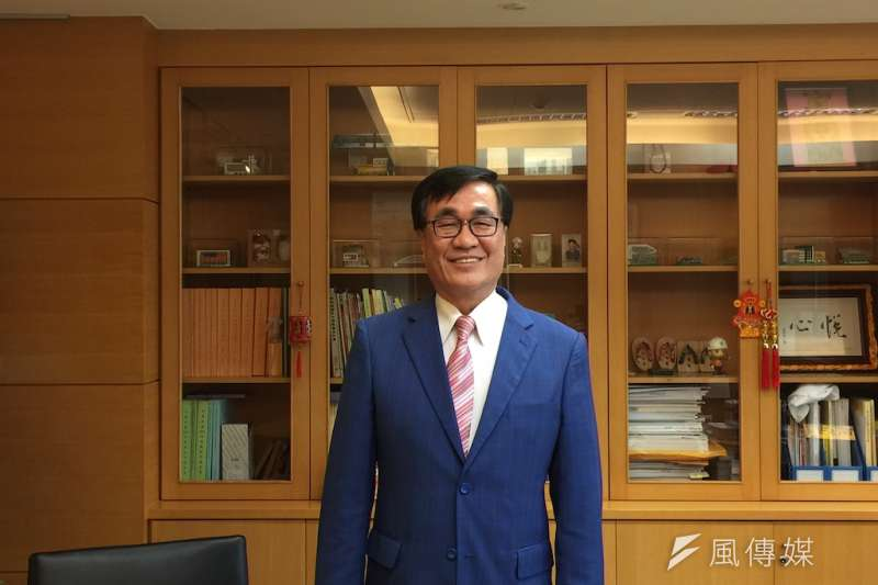 高雄市副市長李四川由ICELEI東亞秘書處發布為東亞地區執行委員。(圖/徐炳文攝)