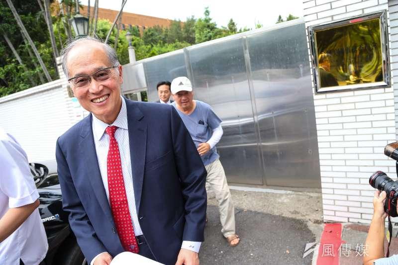 20190606-國安會秘書長李大維6日出席「台灣美國事務委員會揭牌典禮」。(顏麟宇攝)