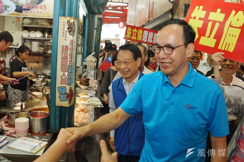 談及國民黨總統初選,前新北市長朱立倫(見圖)15日表示,候選人在黨內初選為求勝選,若是造成「非誰不投」或「是誰不投」,2020就準備拱手讓人。(資料照,盧逸峰攝)