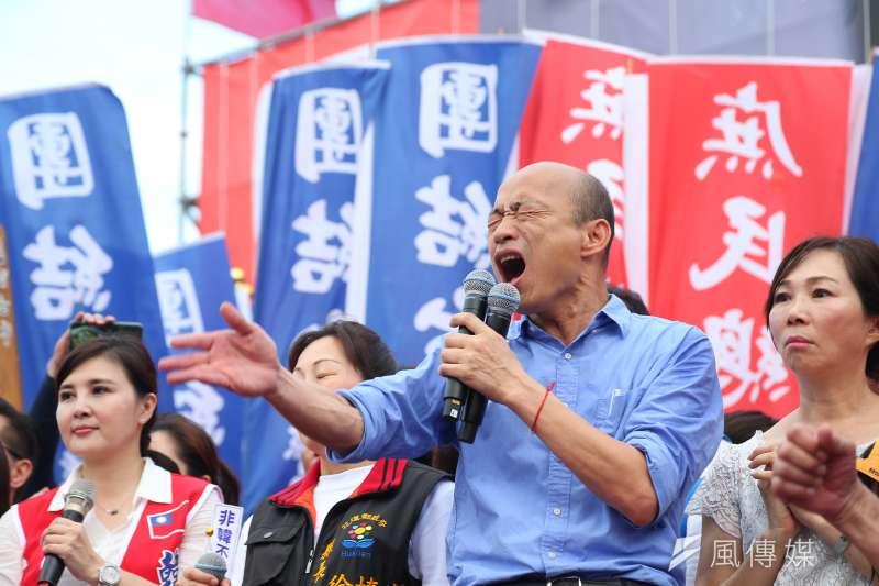 媒體報導北檢曾密訊學者,掌握高雄市長韓國瑜(見圖)北農背信案關鍵證據,台北地檢署今(12)日對此表示,報導內容與事實有所出入。(資料照,顏麟宇攝)
