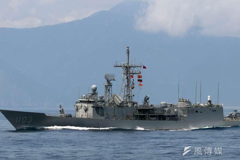20190609_我國海軍成功級艦。(資料照,蘇仲泓攝)