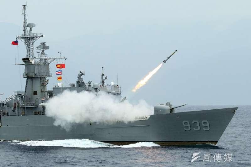 20190609_我國海軍濟陽級艦。(資料照,蘇仲泓攝)
