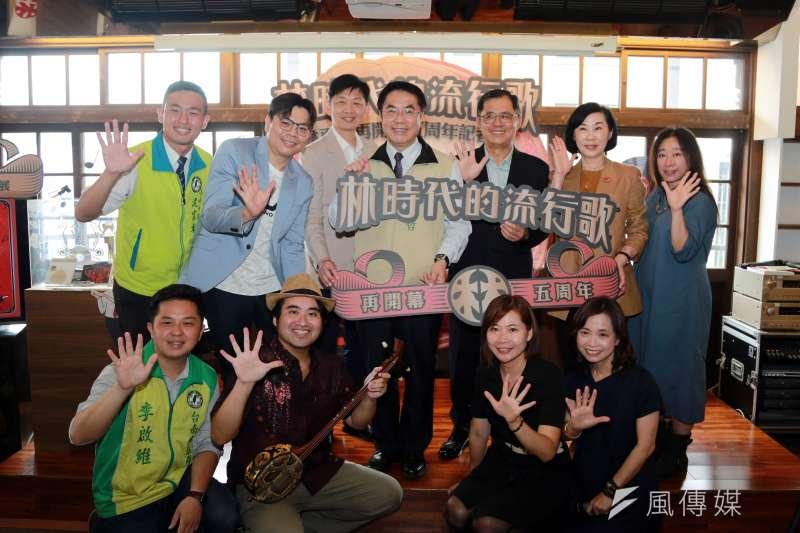歡慶再開幕5周年,林百貨推出「林時代的音樂風潮」特展。(圖/徐炳文攝)