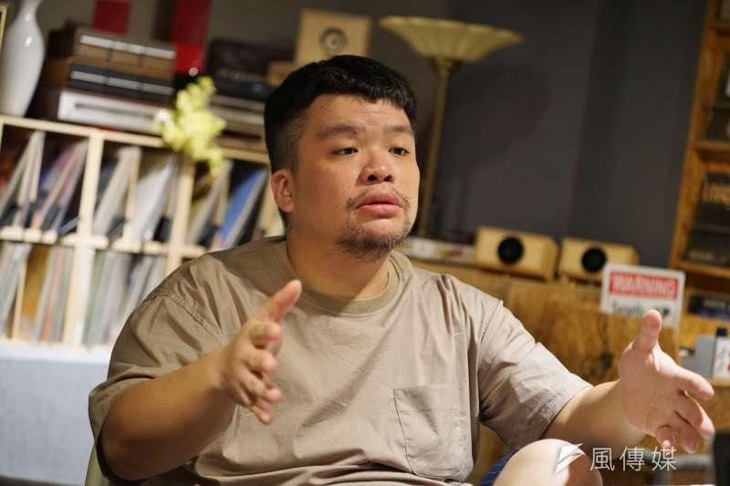 20190605-金曲專訪,顏社創辦者迪拉胖。(盧逸峰攝)