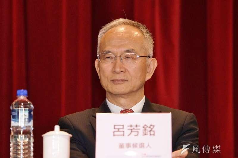 20190611-鴻海法人說明會,亞太董座呂芳銘出席。(盧逸峰攝)
