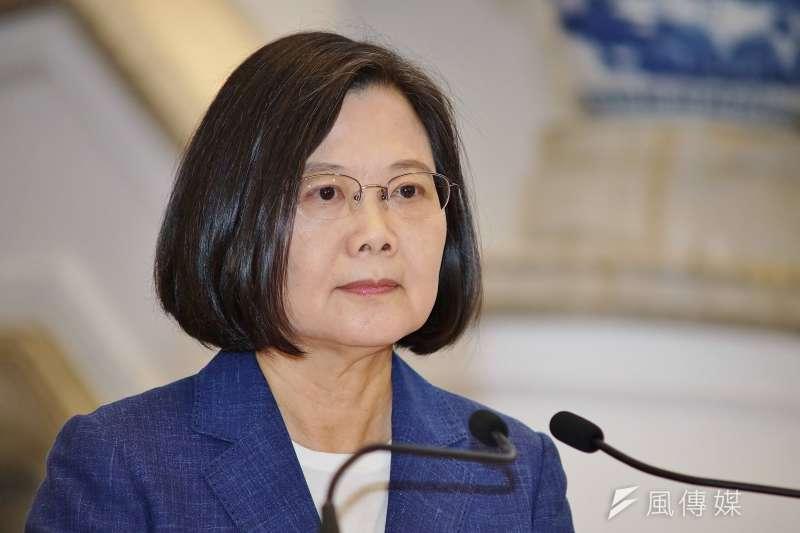 總統蔡英文(見圖)博士爭論,倫敦政經學院(LSE)於當地時間8日在官網發出正式聲明〈LSE statement on PhD of Dr Tsai Ing-wen〉。(資料照,盧逸峰攝)
