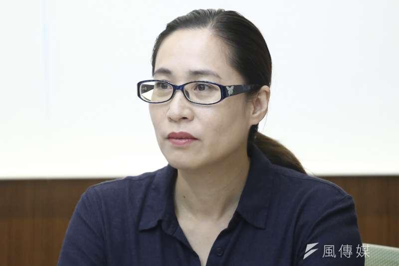 時代力量立委高潞‧以用16日在立法院傳出疑似與男性辦公室主任在樓梯間爭吵事件,她也於當日傍晚發出聲明澄清。(資料照,陳品佑攝)