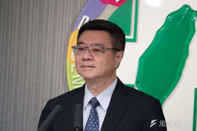 民進黨總統初選結束,黨主席卓榮泰說,選後整合任務即刻啟動,黨中央立刻啟動選戰機關的模式。(盧逸峰攝)