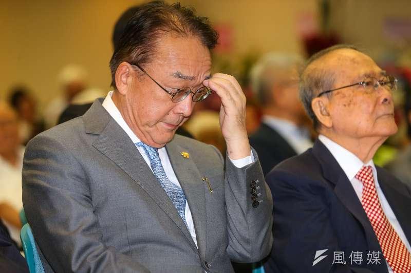 日本台灣交流協會台北事務所代表沼田幹夫(見圖)1日上午在總統府,獲得總統蔡英文頒發大綬景星勳章。(資料照,顏麟宇攝)。