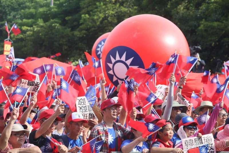 64挺韓國瑜團體15日在雲林誓師大會。(新新聞柯承惠攝).jpg.jpg