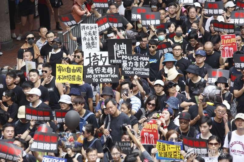 近照 20190616_香港16日下午「反送中」大遊行。(新新聞郭晉瑋攝)