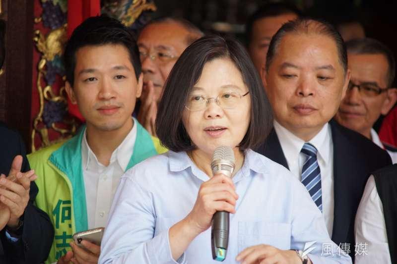總統蔡英文(見圖)16日表示,香港這幾天發生的事,大家都有看到,「蔡英文繼續做總統,一定繼續保護這個國家」。(資料照,盧逸峰攝)
