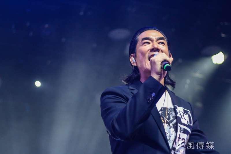 高雄流行音樂中心首度與Legacy攜手合作,推任賢齊「男子漢」演唱會-高雄場。(圖/徐炳文攝)