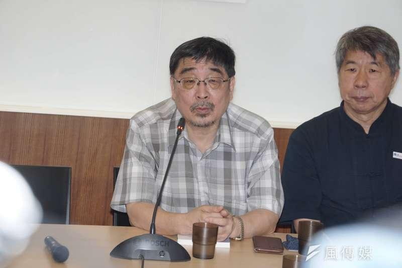 東華大學教授施正鋒4日在臉書宣布退出喜樂島聯盟政黨,引發關注。(資料照,盧逸峰攝)