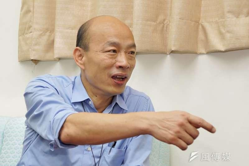20190617-高雄市長韓國瑜拜會王前院長。(盧逸峰攝)