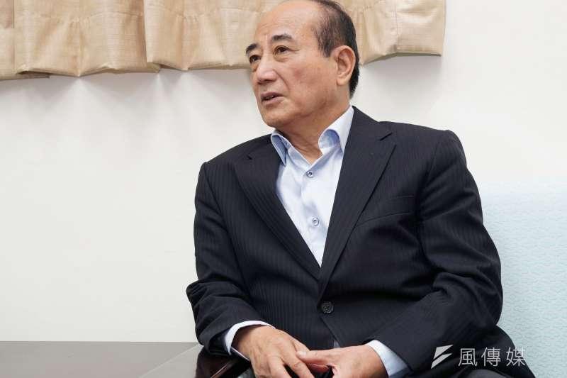 20190617-前立法院長王金平與韓市長會談。(盧逸峰攝)