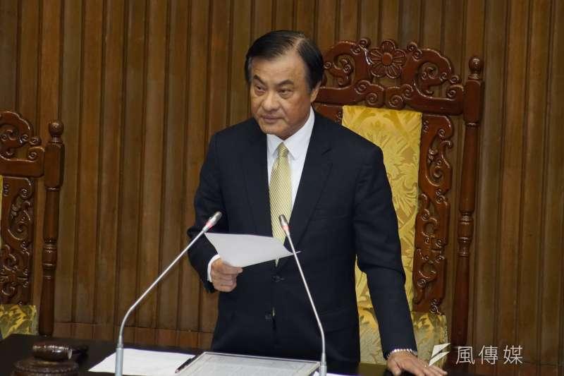 20190617-立法院針對臨時會議案進行表決,院長蘇嘉全主持。(盧逸峰攝)