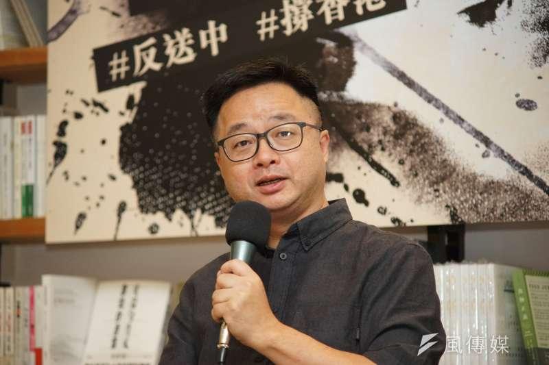 針對旺中集團提告,民進黨秘書長羅文嘉也發出聲明回擊,要求旺中勿用濫訴恫嚇回應社會質疑。(資料照,盧逸峰攝)