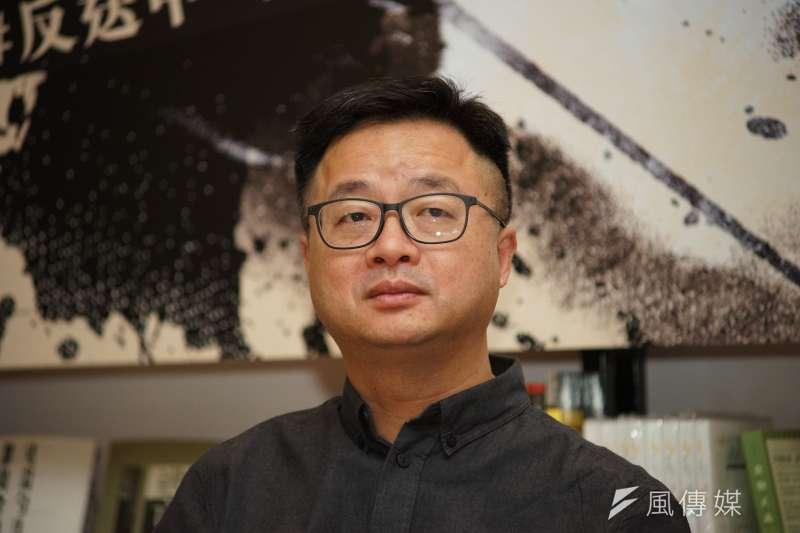 有傳民進黨秘書長羅文嘉近日捲入黨內許多爭端中。(資料照,盧逸峰攝)