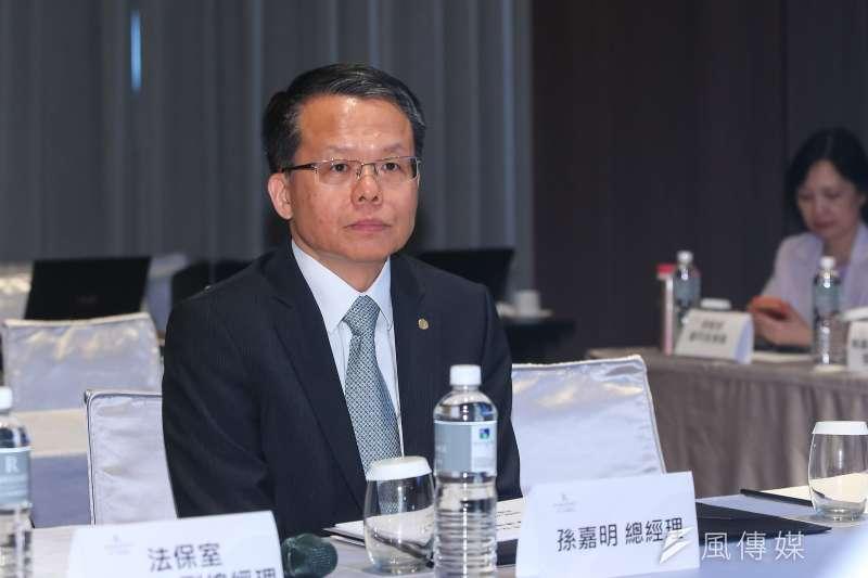 榮航空總經理孫嘉明宣布將招募男性空服員。(資料照片,顏麟宇攝)