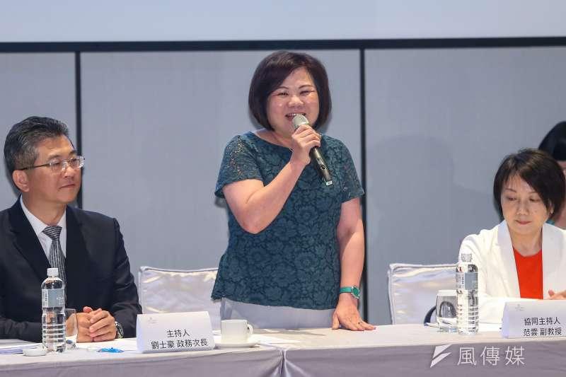 20190620-勞動部長許銘春(中)20日出席長榮航空勞資爭議正式協商會議。(顏麟宇攝)