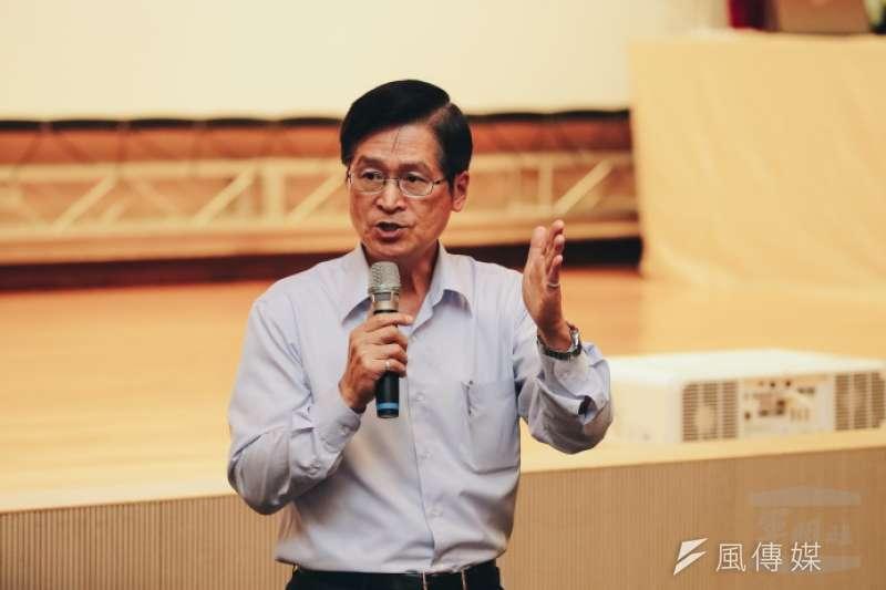20190620-國防部長嚴德發。(取自軍聞社)