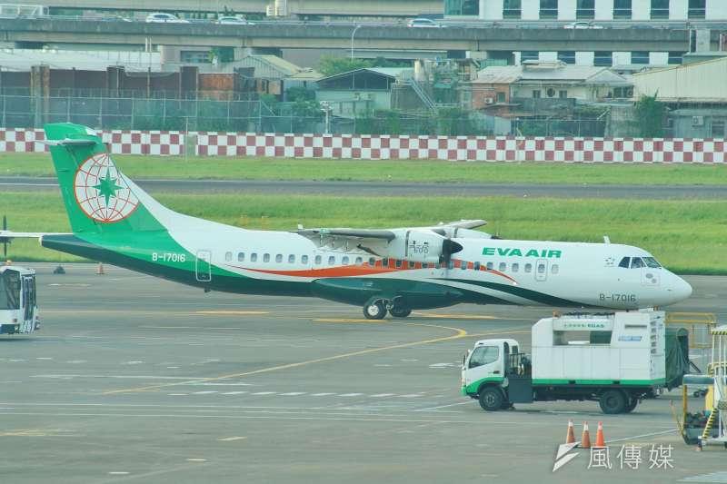 20190620-長榮航空飛機。(盧逸峰攝)