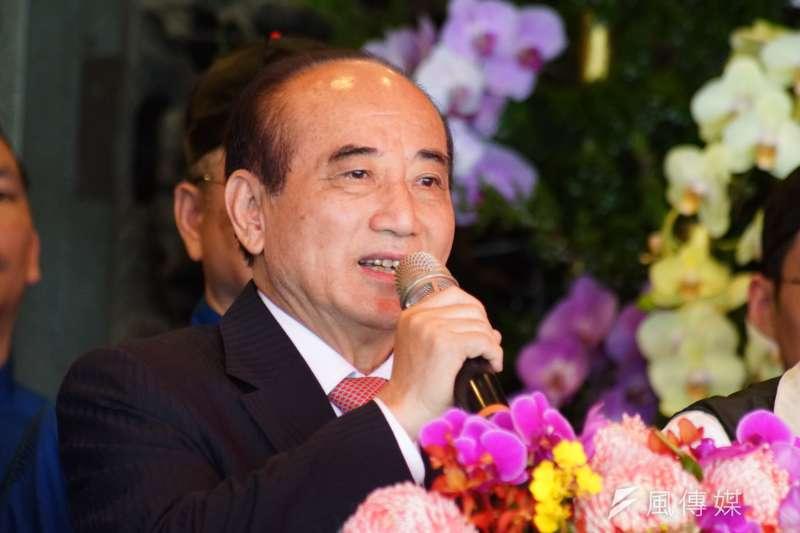 前立法院長王金平迄今仍表明「參選到底」。(盧逸峰攝)