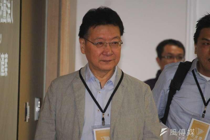 根據週刊報導,節目主持人趙少康(見圖)傳請辭TVBS《少康戰情室》,後遭將接任董事長的陳文琦勸以大局為重,最後勉強留下。(資料照,蔡親傑攝)