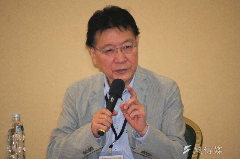 針對《TVBS》民調顯示國民黨總統選人韓國瑜的民調逆轉勝,節目主持人趙少康在節目「少康戰情室」分析原因。(資料照,蔡親傑攝)