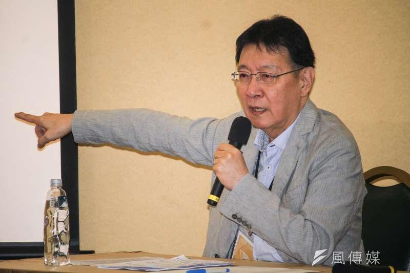 資深媒體人趙少康表示,對於鴻海創辦人郭台銘請他擔任選舉總幹事一事,自己當時要求必須要有2個前提,才會願意協助操盤。(資料照,蔡親傑攝)