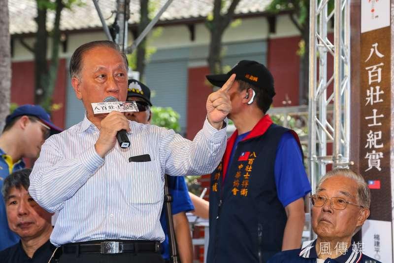 周六是新黨成立26年黨慶,黨主席郁慕明當日將提出「一國兩制台灣方案」。(資料照片,顏麟宇攝)