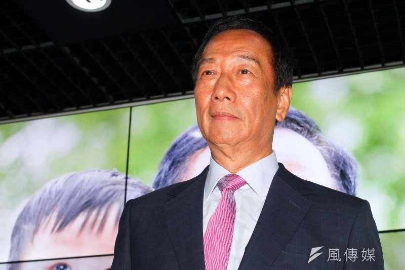 20190621-鴻海董事長郭台銘21日出席股東大會。(蔡親傑攝)