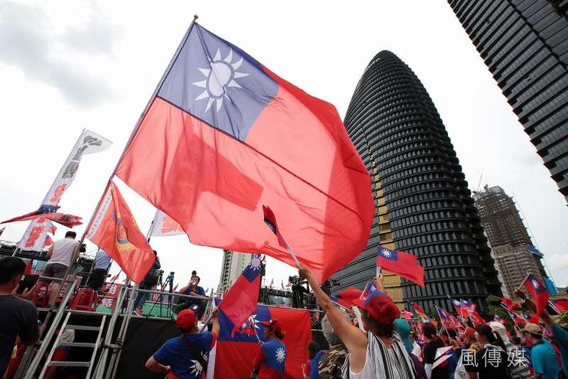 中華民國的位置像哪個方向移動,還要看中共的態度和作法。(顏麟宇攝)