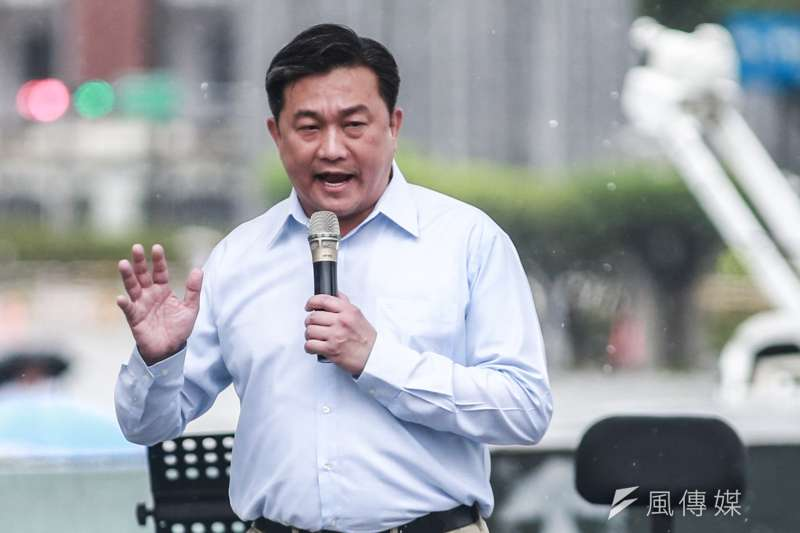 民進黨立委王定宇(見圖)在臉書發文,砲轟菲律賓禁止台灣人入境「是一個錯誤且無益於防疫決定」。(資料照,簡必丞攝)