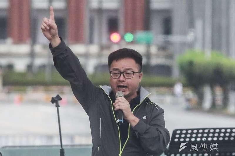 民進黨秘書長羅文嘉(見圖)向將接副秘書長的林飛帆喊話,要「挺住」!(資料照,簡必丞攝)
