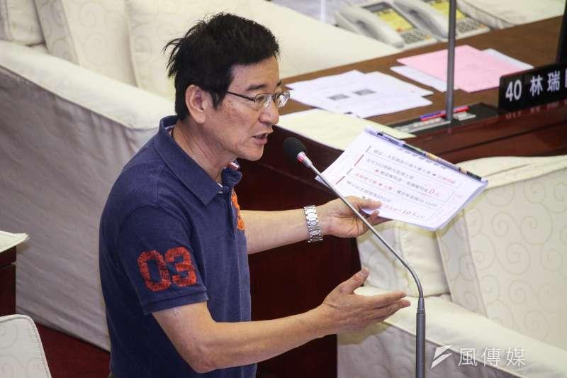 台北市議員李慶元(見圖)宣布重返新黨。(資料照,蔡親傑攝)