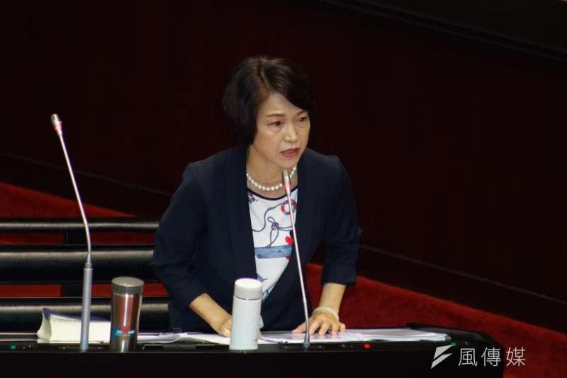 20190625-司法院大法官被提名人詢答,被提名人蔡宗珍發言。(盧逸峰攝)