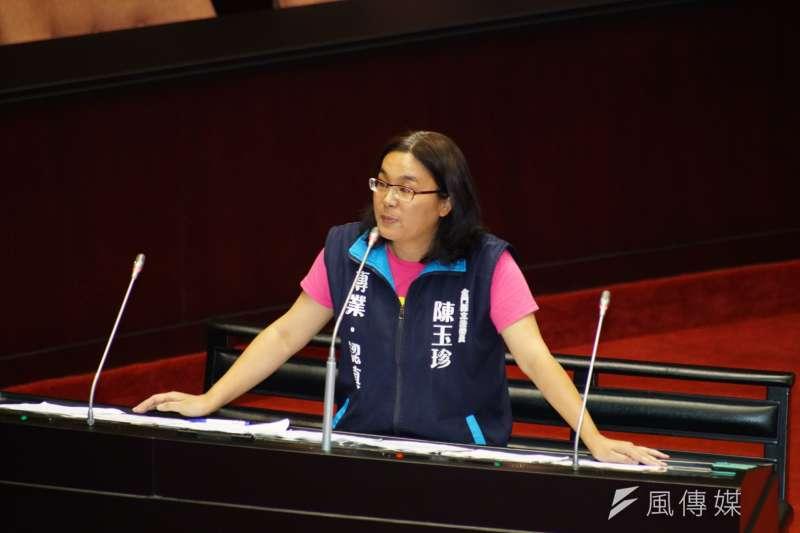 20190625-司法院大法官被提名人詢答,立委陳玉珍發言。(盧逸峰攝)