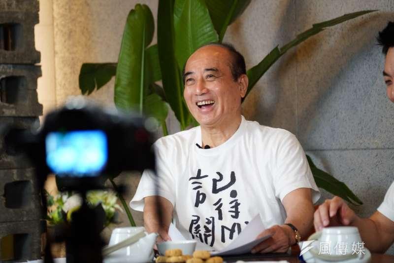前立法院長王金平雖然退出初選,但「參選」動作不減。(盧逸峰攝)