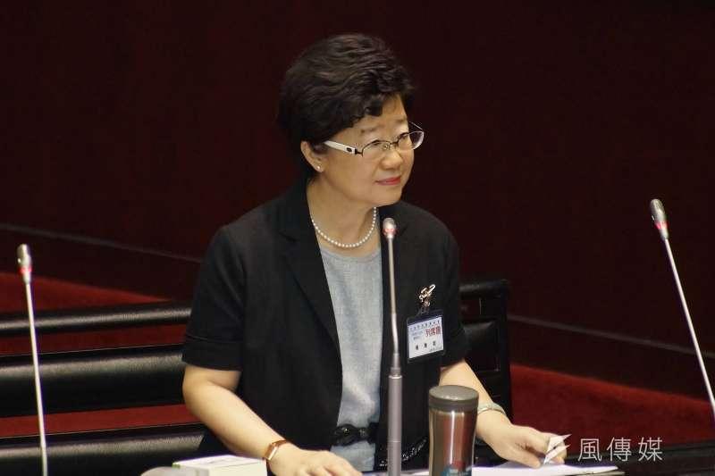 立法院25日進行司法院大法官被提名人詢答,被提名人楊惠欽(見圖)於會中談及死刑相關議題。(盧逸峰攝)