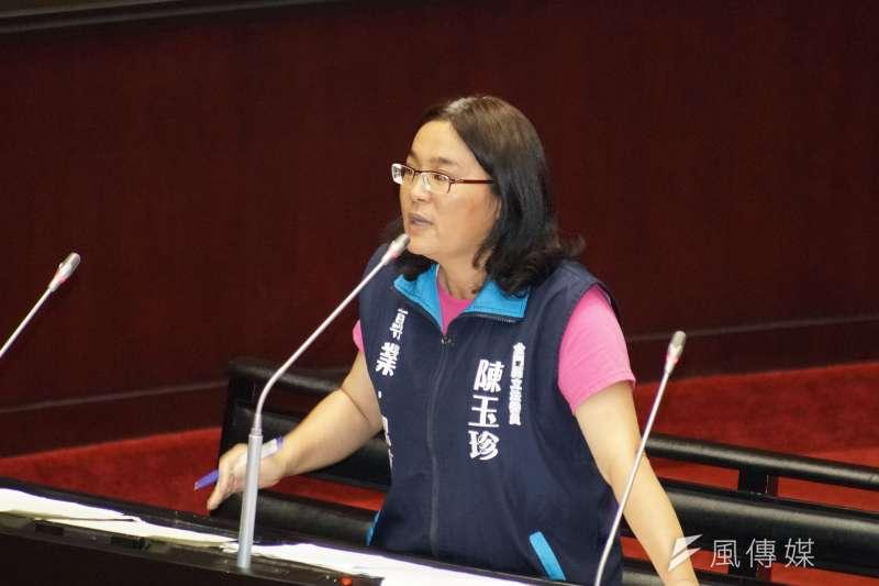 20190625-司法院大法官被提名人詢答,立委陳玉珍出席。(盧逸峰攝)